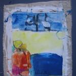 toile libre 33x41 cm, novembre 1995